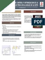 Sistema de Control y Optimizacion de La Energia
