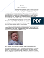 fact sheet 2infancy and toddlerhood