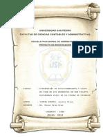 Proyecto de Investigacion - Sovero Romero Jerson