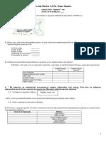 FichaSeparação de Misturas 7ºano