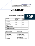 User Guide Ekomilk
