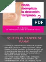 Presentación Cancer de Mama