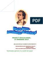 0 Proiect Educational Mihai Eminescu