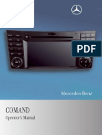 Mercedes-Benz M-Class 2009 – COMMAND Manual