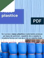 Mase Plastice si polimeri