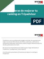 10 maneras de mejorar tu ranking en Tripadvisor