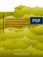 Debates en Sociología Rural AMER, México