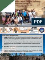 Report Third Pueblo-Maya Cultural Exchange 2014