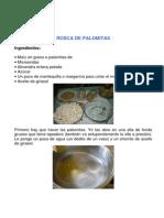 Rosca de Palomitas
