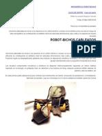 Robot Bichos