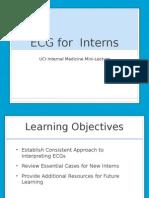 Ecg for Interns