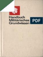 Handbuch Militärisches Grundwissen (1984)