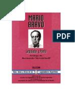 Mario Bravo-Legislador y Poeta