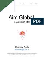 Aim Global Profile