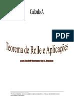 Teorema de Rolle e aplicações