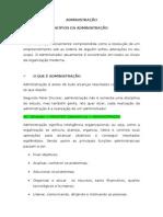 Administração - Material