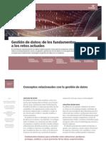 Gestion de Datos - De Los Fundamentos a Los Retos Actuales