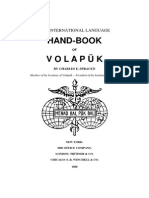 Sprague C E Handbook of Volapuk