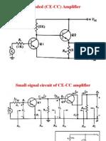 Cascaded (CE-CC) Amplifier