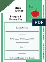 5to Grado - Bloque 1 - Desafíos Matemáticos.doc