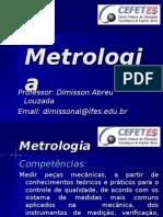 Apresentação Da Disciplina Metrologia - Subsequente