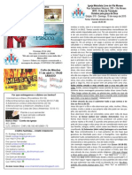 Boletim - 15 de Março de 2015