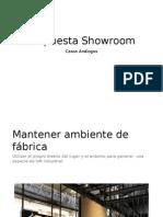 Propuesta Showroom