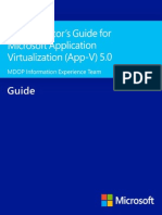 AGM Application Virtualization (App-V) 5.0