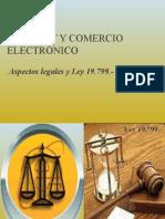I.3) Internet y Comercio Electrónico. Aspectos Legales y Ley 19.799.