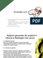 Rinologie Curs 1