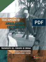 CONACE - (2005) Tratamiento Ambulatorio-comunitario Para Niños y Adolescentes en Vulnerabilidad Social