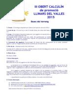 Bases III Obert Calculin 2015