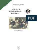 Imperial German Headgear 1860 to 1910