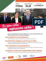 Projet PS Départementales Asnières-Courbevoie 2015