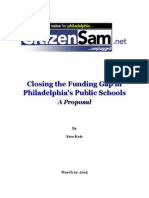 Closing the Educational Funding Gap March 12 2015
