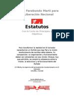 Estatutos del FMLN con Reformas 2014