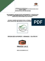 Geotecnia K5+740 AUTOPISTA - GRANADA VER0