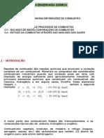 Cap.5 Introdução Eq Bm Combustão