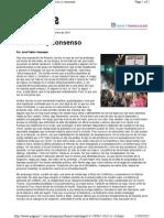 Feinmann - Conflicto y Consenso