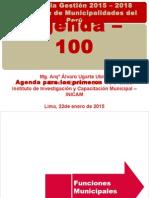 B - Agenda de Los 100 Primeros Días de Gobierno