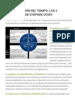 Administración Del Tiempo_ Los 4 Cuadrantes de Stephen Covey _ Zetasoftware