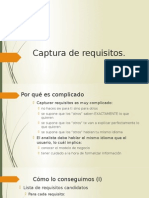 Captura de Requisitos