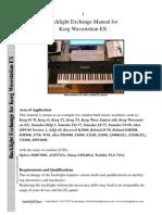 Korg Wavestation Backlight Replacement (1)