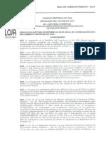 Resolución de Reforma al PAC-2015 Nro. 027-GPL-ACP-2015