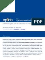 Presentazione EPIDA Istituzionale