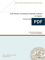 Soft Power of Korean Popular Culture in Japan