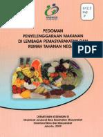 Pedoman Penyelenggaraan Makanan Di Penjara