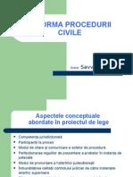 Reforma Procedurii Civile