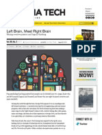 Left Brain, Meet Right Brain - Georgia Tech Alumni Magazine