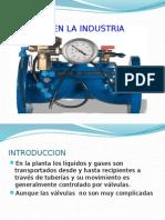 Valvulas en La Industria